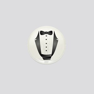 bachelor party groom tuxedo Mini Button