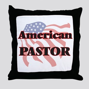American Pastor Throw Pillow