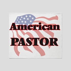 American Pastor Throw Blanket