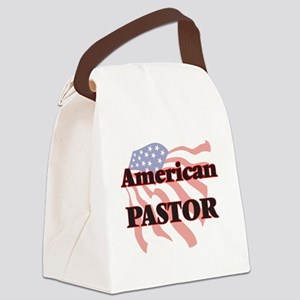 American Pastor Canvas Lunch Bag