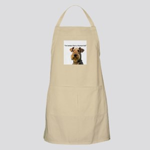 Airedale is better than a child Apron