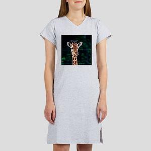 Sweet young Giraffe Women's Nightshirt