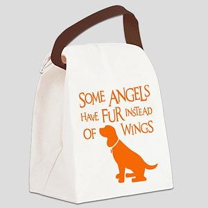Beagle Angel Canvas Lunch Bag