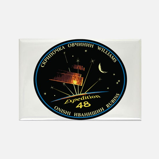 Expedition 48 Rectangle Magnet