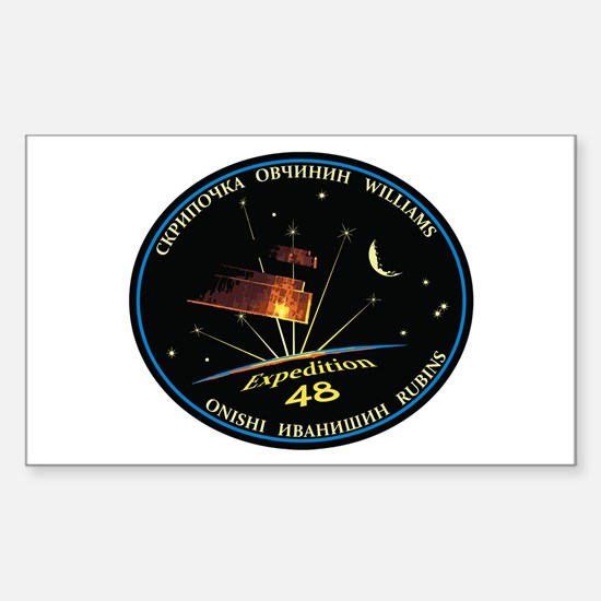 Expedition 48 Sticker (Rectangle)