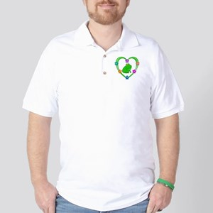 Frog Heart Golf Shirt