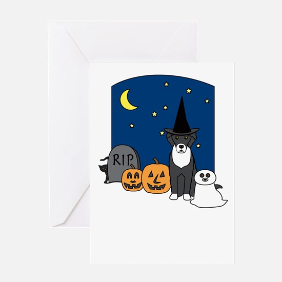 Portie Halloween Greeting Card