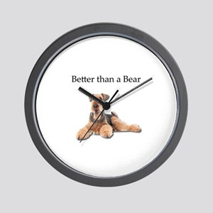 Airedale Terrier is even better than a Wall Clock