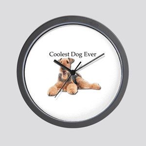 The Airedale Terrier is the Coolest Dog Wall Clock