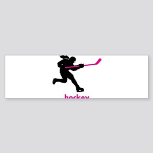 Play Hockey Bumper Sticker