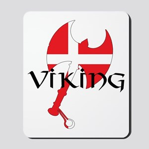 Denmark Viking Axe Mousepad