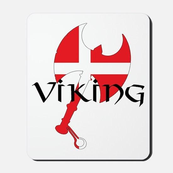 Denmark Viking Axe Mousepad