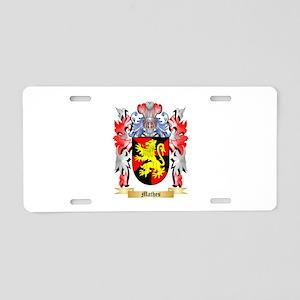Mathes Aluminum License Plate