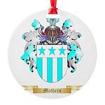 Mathers Round Ornament