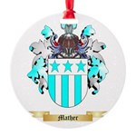 Mather Round Ornament
