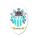 Mather 35x21 Oval Wall Decal