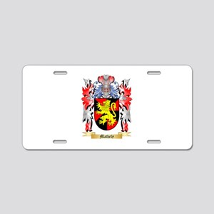 Mathely Aluminum License Plate