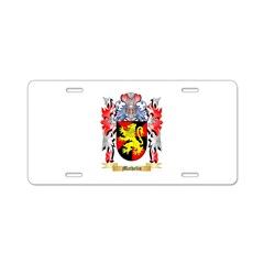 Mathelin Aluminum License Plate