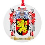 Mathein Round Ornament