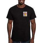 Mathee Men's Fitted T-Shirt (dark)