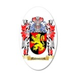 Mateuszczyk 35x21 Oval Wall Decal