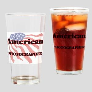 American Photographer Drinking Glass