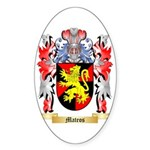 Mateos Sticker (Oval 10 pk)