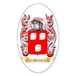 Mateo Sticker (Oval)
