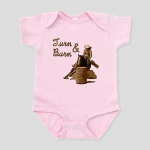 Turn & Burn. Western Cowgirl. Infant Bodysuit