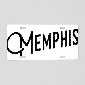 Memphis Tennessee Aluminum License Plate
