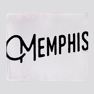Memphis Tennessee Throw Blanket