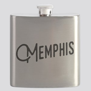 Memphis Tennessee Flask