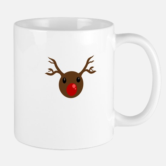 Red nosed reindeer Mugs