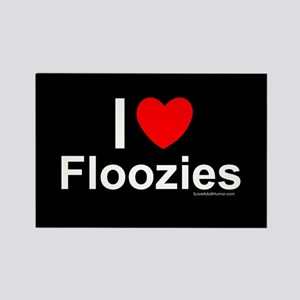 Floozies Rectangle Magnet
