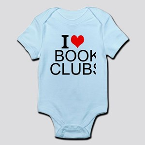 I Love Book Clubs Body Suit