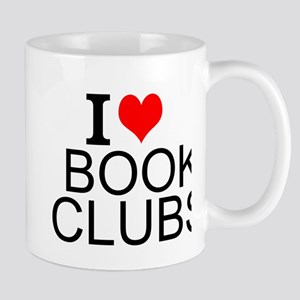 I Love Book Clubs Mugs