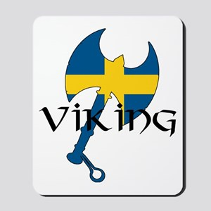 Swedish Viking Axe Mousepad