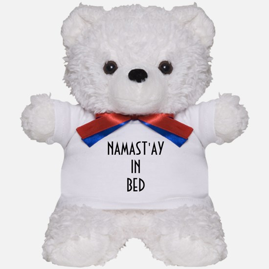 NAMAST'AY IN BED Teddy Bear