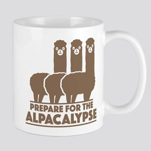 Prepare For The Alpacalypse Large Mugs