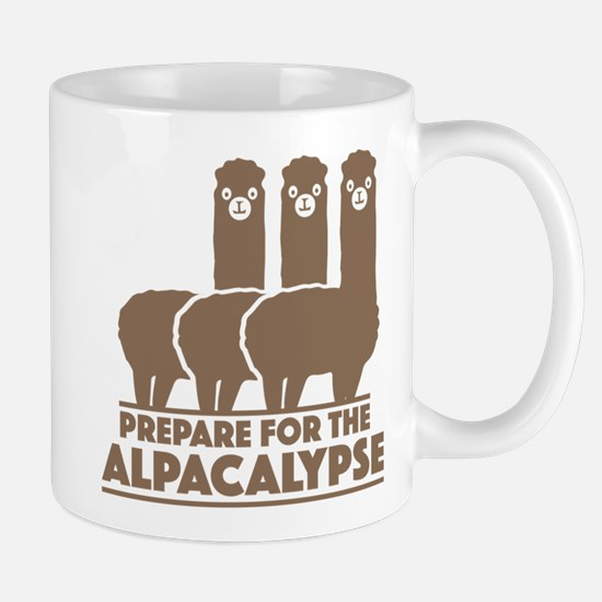 Prepare For The Alpacalypse Large Mugs