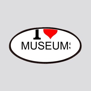 I Love Museums Patch