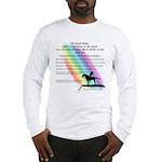 Rainbow Native American Long Sleeve T-Shirt