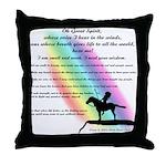 Rainbow Native American Throw Pillow