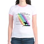 Rainbow Native American Jr. Ringer T-shirt