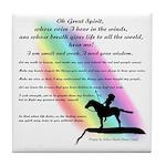 Rainbow Native American Tile Coaster