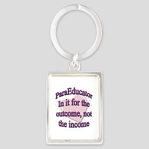 paraed purple copy Keychains
