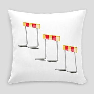 Race Hurdles Everyday Pillow