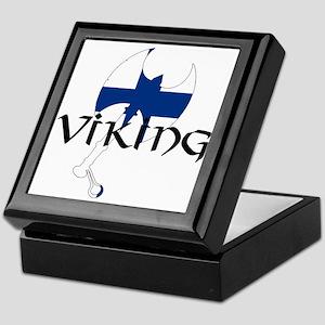 Finnish Viking Axe Keepsake Box