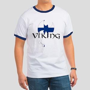 Finnish Viking Axe Ringer T