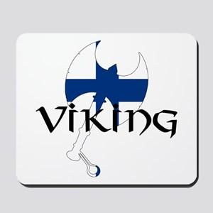 Finnish Viking Axe Mousepad